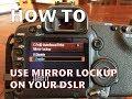 Canon 5D MkII – Mirror Lockup for Sharper Photos