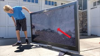 whats inside a 65inch flat screen tv