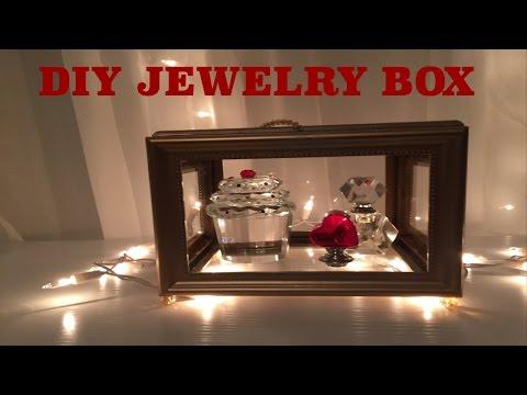 Dollar tree DIY jewelry box