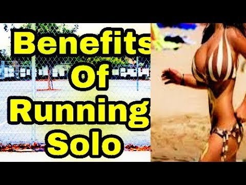 8 Powerful Benefits of Running Solo.