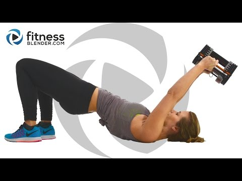 Kelli's Upper Body Workout for People Who Get Bored Easily - Arms, Shoulders, Upper Back