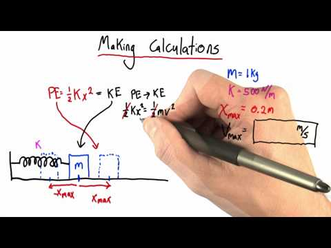 Making Calculations Solution - Intro to Physics