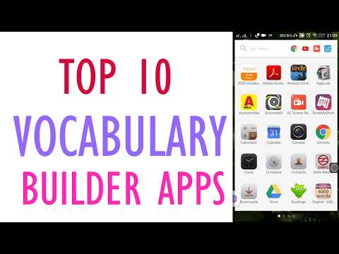 Top 10 Best Vocabulary Builder Apps (2017)To Quickly Improve your vocabulary
