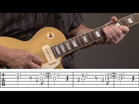 Carlos Santana Guitar Lesson