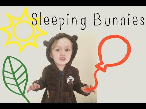 Sleeping Bunnies nursery rhyme - Sleeping Dinos and Gruffalo