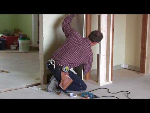 How to cut a hole in drywall for an electrical outlet