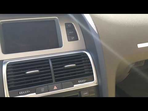 How to Remove Display Interface Box from 2009 Audi Q7 for Repair.