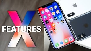 Top 10 iPhone X Features!