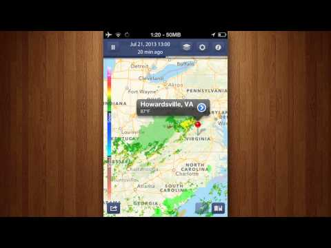 NOAA Radar Pro - Storm Alerts, Hurricane Tracker & Weather Forecast Review