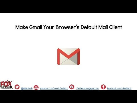 Make Gmail Chrome's Default Mail Client