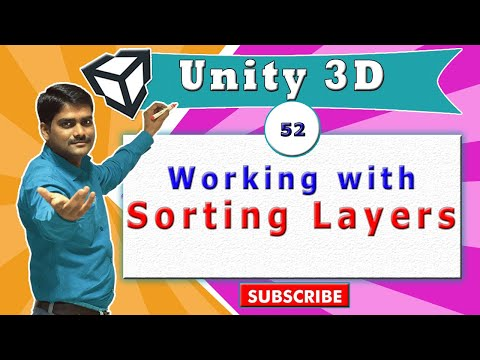 Unity Essentials Tutorial 52 - Working with Sorting Layers