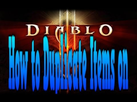 How to Duplicate(CHEAT) Items on Diablo 3 Xbox 360