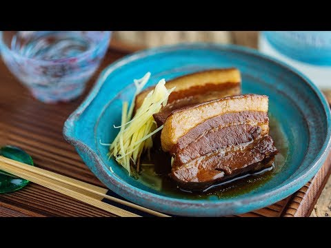Rafute (Okinawan BRAISED PORK BELLY) ラフテーの作り方 (レシピ)