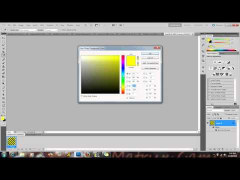 How to make changing text color photoshop cs5