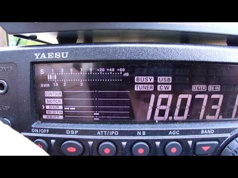 FT-450 - Demonstration des DNR - Digital Noise Reduction