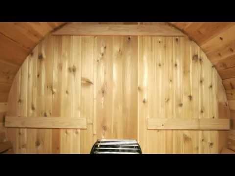 Almost Heaven Saunas - Barrel Sauna