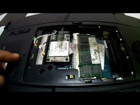 How To Replace CMOS Battery Compaq Presario C300 Laptop