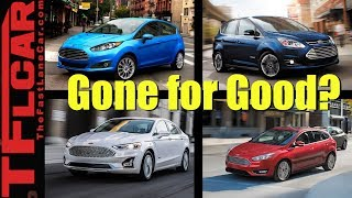 RIP Cars: Ford Kills These Five Cars - Is This The End of Ford Cars in America?