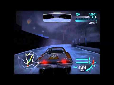Need For Speed Carbon - All Boss Races With Boss Cars