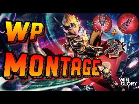 Vainglory - OP Vox [WP] build montage!!