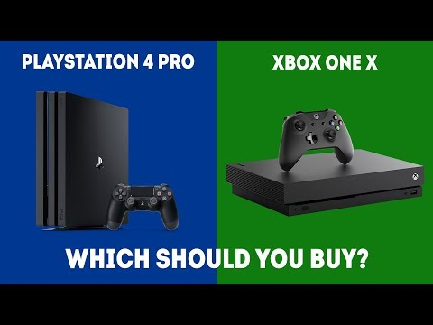 PlayStation 4 Pro vs XBOX One X - Which Console Should You Choose? [2018 Edition]