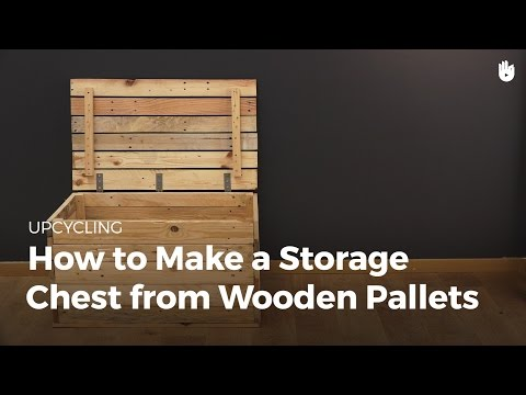 Make a Storage Trunk from Wooden Pallets | Upcycling