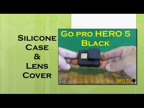 GoPro Hero 5 Silicone Case & Lens Cover