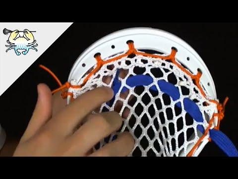 Tutorial: How to String Lacrosse Shooting Strings