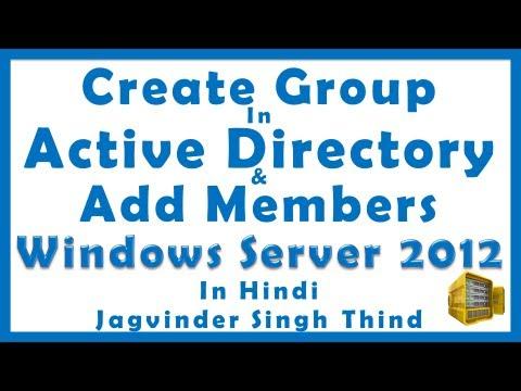 Windows Server 2012 Active Directory Group (Hindi) - Video 29