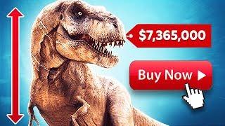 BUYING A $7,300,000 T-REX!! (Jurassic World Evolution)