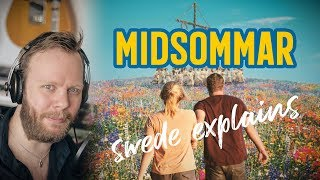 Swede reacting to MIDSOMMAR trailer (Swedish festival explained)