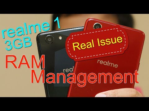Realme 1 RAM Management issue on 3GB variant - How to Fix!