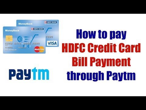 Pay Credit Card Bill through Paytm | How to Pay HDFC Credit Card Bill Payment with Paytm?
