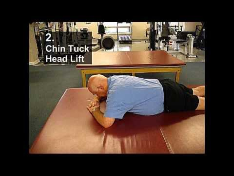 Fall Prevention Exercises(Posture Series) - Chin Tuck Head Lift