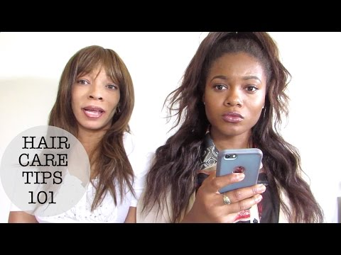 Tips for Healthy Hair (relaxed hair)