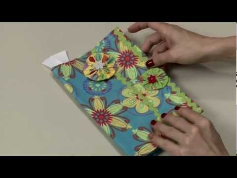 Singer Sew Fun Book or Journal Cover Instructional Video