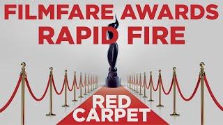 Filmfare Red Carpet Awards | Rapid Fire | RJ Prerna | Radio Mirchi | Filmy Mirchi