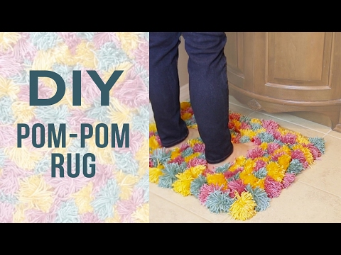 Fluffy Pom-Pom Rug