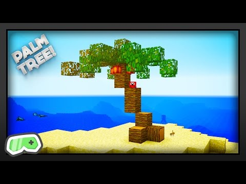 Minecraft - How To Make A Palm Tree