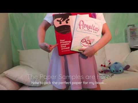 PrintNinja Paper Sample Review - Ordering Children's Book for offset Printing