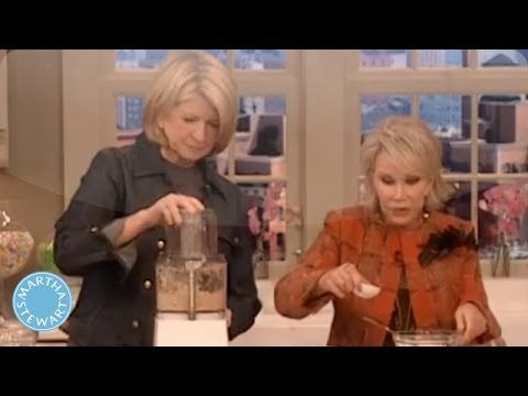 Matzo Latkes with Joan Rivers - Martha Stewart