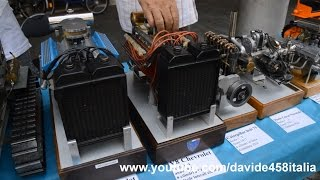 Sound! Running Miniature Handmade Engines