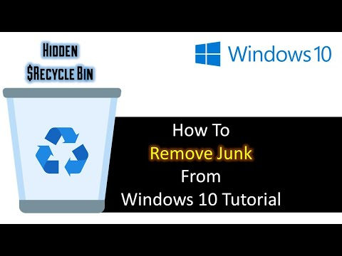 Remove Junk Files From Your PC by Deleting the Hidden Recycle Bin | Windows 10 Tutorial