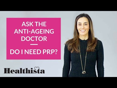 What is PRP? | Ask the anti-ageing doctor