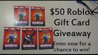 Giving Away Roblox Giftcard Feb 2019