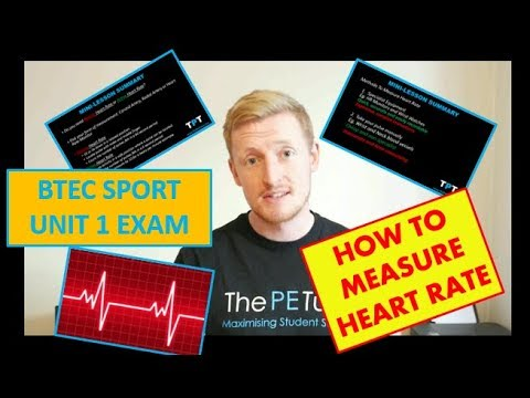 How To FIND Your PULSE And Measure Your HEART RATE