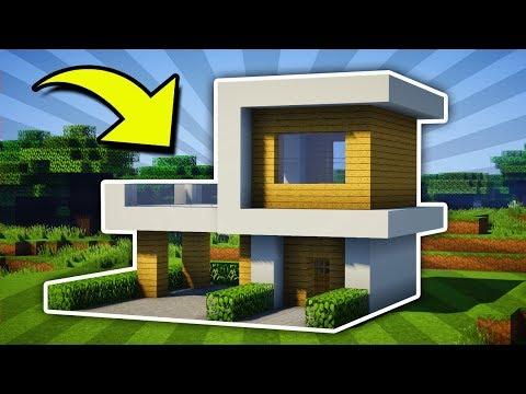 Minecraft : Small Modern House Tutorial [#11] (PC/XboxOne/PS4/PE/Xbox360/PS3)