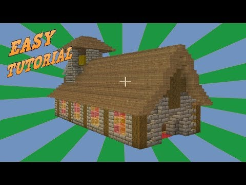 Minecraft: How To Build a Medieval Church Tutorial