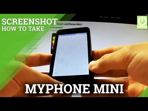 How to Take a Screenshot on myPhone Mini - Capture Screen in myPhone