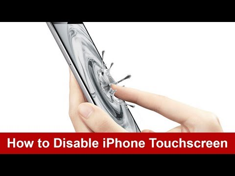 How to Disable iPhone Touchscreen when children use